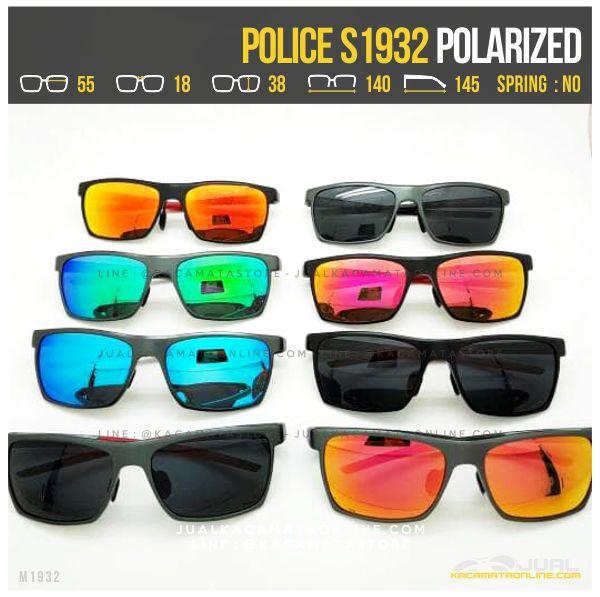Trend Kacamata Police Terlaris S1932 Polarized