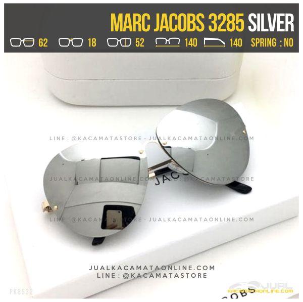 Model Kacamata Gaya Terbaru Marc Jacobs 3285 Silver