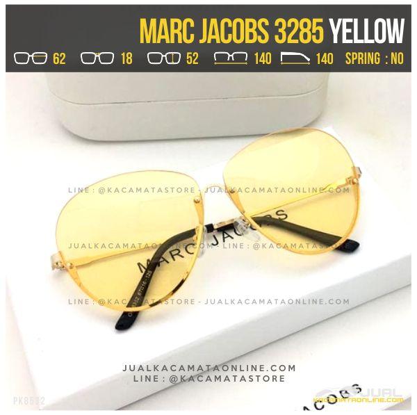 Harga Kacamata Gaya Terbaru Marc Jacobs 3285 Yellow