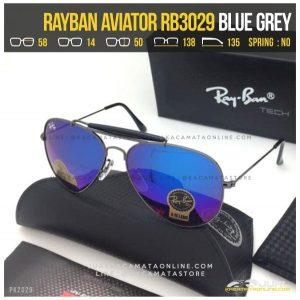 Kacamata Rayban Pilot RB3029 Blue Grey