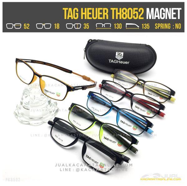 Frame Kacamata Minus Terbaru Tag Heuer TH8052