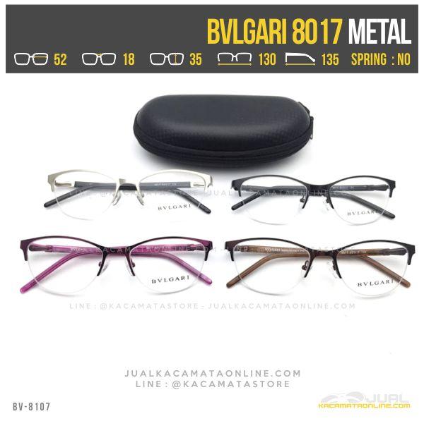 Model Kacamata Minus Wanita Bvlgari 8017