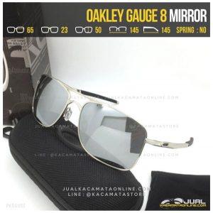 Kacamata Pria Terbaru Oakley Gauge 8 Dgun Mirror