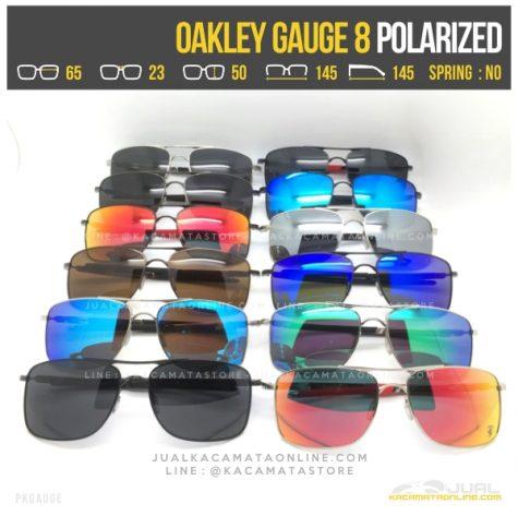 Model Kacamata Pria Terbaru Oakley Gauge 8 Polarized
